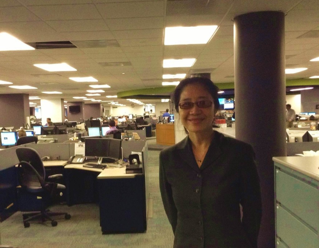 2014年5月29日华泽在华盛顿邮报接受采访